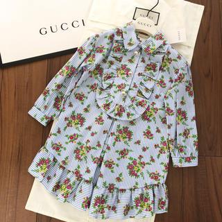 グッチ(Gucci)の【お取置き中】グッチチルドレン 新品ワンピース 6(ワンピース)