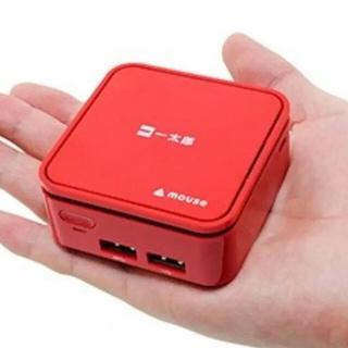 超小型PC 手のひらサイズ 4K対応 マウスコンピュータ