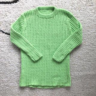 新品⭐️手編みセーター