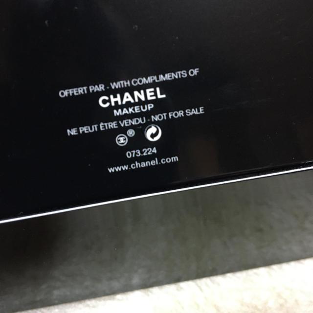 CHANEL(シャネル)のCHANEL/シャネルノベルティ★黒色 ヘアバンド レディースのヘアアクセサリー(ヘアバンド)の商品写真