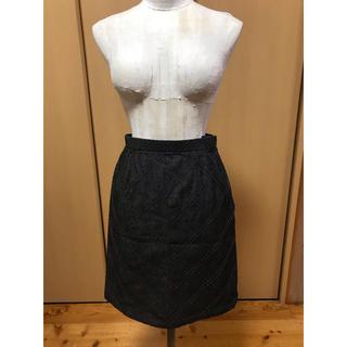 マウジー(moussy)のスカート タイトスカート 台形スカート(ひざ丈スカート)