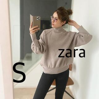 ZARA - ZARA ハイネックニットセーター S