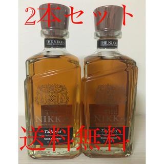 ニッカウイスキー(ニッカウヰスキー)の未開封 ザ ・ニッカ テイラード 700ml 2本セット(ウイスキー)
