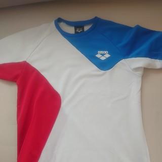 arena - arena メッシュTシャツ