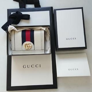 Gucci - GUCCI ミニウォレット 二つ折り カードケース