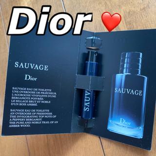 クリスチャンディオール(Christian Dior)の❤️ディオール オードゥトワレ ソヴァージュ サンプル(香水(男性用))