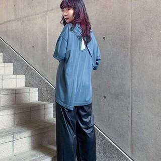 ジーナシス(JEANASIS)のバックオープンTシャツ(Tシャツ(半袖/袖なし))