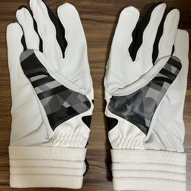 adidas(アディダス)の【L】アディダス ED1870 野球 5T バッティンググローブ 手袋 両手用 スポーツ/アウトドアの野球(その他)の商品写真