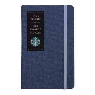 スターバックスコーヒー(Starbucks Coffee)のスターバックス :手帳 2021年 デニム スタバ 台湾 海外 スケジュール帳(カレンダー/スケジュール)