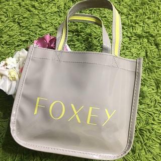 FOXEY - 新品フォクシー レディロゴ入りトートバッグ