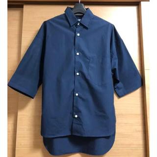 マディソンブルー(MADISONBLUE)のマディソンブルー  J.BRADLEY SHIRT ネイビー 00(シャツ/ブラウス(半袖/袖なし))
