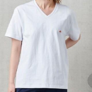 ダントン(DANTON)のタグ付きDantonコットンTシャツ(Tシャツ(半袖/袖なし))
