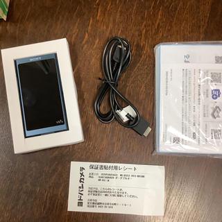 WALKMAN - 8月購入 保証書あり ソニー ウォークマン Aシリーズ 16GB NW-A55