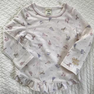 ジェラートピケ(gelato pique)のジェラートピケ  長袖 トップス 100〜110cm(Tシャツ/カットソー)