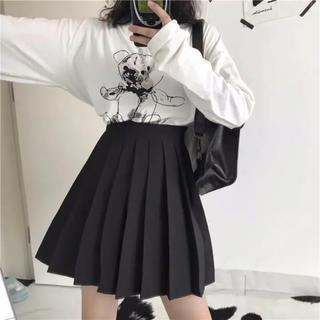 やみかわ  制服 黒スカートパンツ