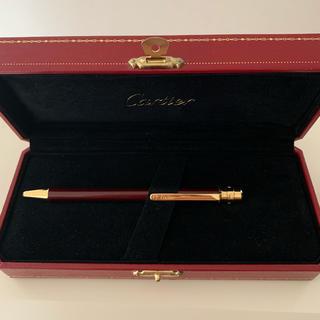 カルティエ(Cartier)のカルティエ ボールペン ボルドーゴールド(ペン/マーカー)