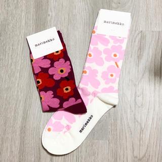 マリメッコ(marimekko)の新品未使用!マリメッコ 靴下2点セット④(ソックス)