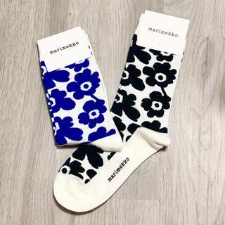 マリメッコ(marimekko)の新品未使用!マリメッコ 靴下2点セット③(ソックス)