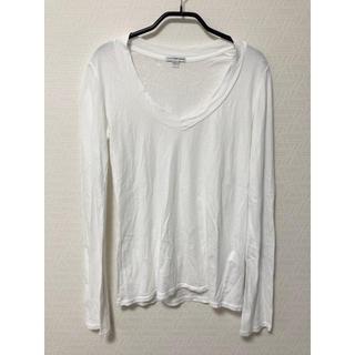 ジェームスパース(JAMES PERSE)のJAMES PERSE ベーシック Vネック長袖Tシャツ WMJ3931(Tシャツ(長袖/七分))