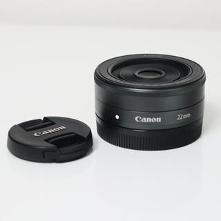 Canon - EOS Kiss Mにおすすめ! 玉ボケがキレイな高画質な大口径パンケーキレンズ