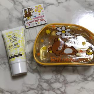 サンエックス - 新品 リラックマ 茶房 マヌカハニーハンドクリーム リラックマ トラベルセット