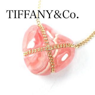 Tiffany & Co. - ティファニー TIFFANY ロードクロサイト K18YG ネックレス