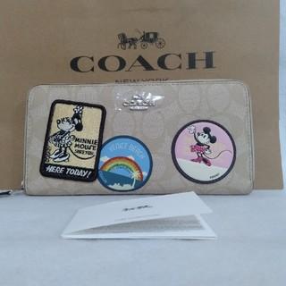 COACH - 新品未使用 COACH ディズニー ミッキー ミニー 財布