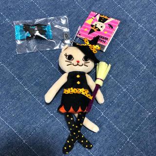 カルディ(KALDI)のカルディ  くたくたネコ ハロウィン 魔女ちゃん(キーホルダー)