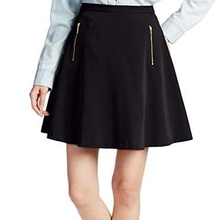 ViS - vis ジップポケットフレアスカート