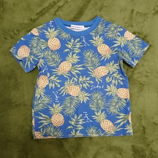 ドンキージョシー(Donkey Jossy)のDonkey Jossy パイナップルTシャツ 110㎝(Tシャツ/カットソー)