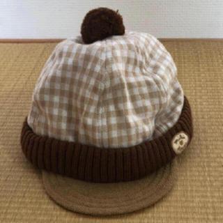 ミキハウス(mikihouse)のミキハウスファースト☆ベビーキャップ(帽子)
