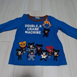 DOUBLE.B - ミキハウス ダブルB  クレーン 長袖 Tシャツ 100サイズ