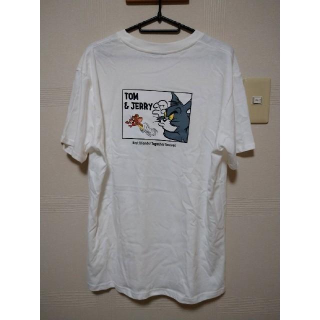 トムとジェリー Tシャツ レディースのトップス(Tシャツ(半袖/袖なし))の商品写真