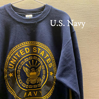 アメリヴィンテージ(Ameri VINTAGE)のU.S. Navy スウェット USA古着(スウェット)