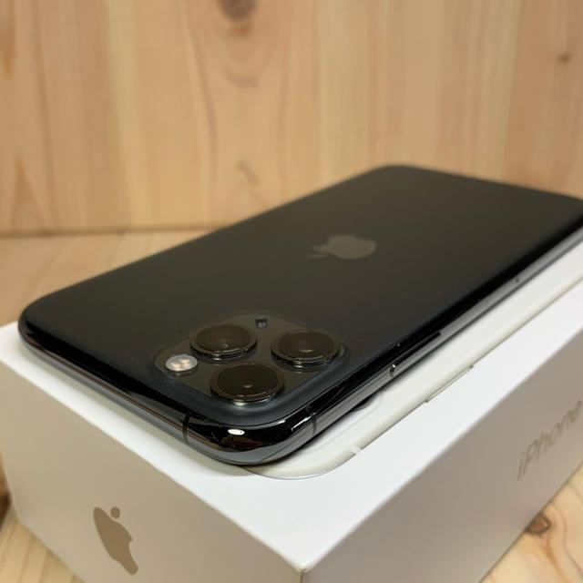 Apple(アップル)の【99%】【S】iPhone 11 pro 256 GB SIMフリー Gray スマホ/家電/カメラのスマートフォン/携帯電話(スマートフォン本体)の商品写真
