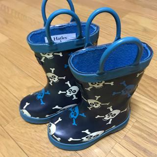 ハッカキッズ(hakka kids)のRibbon hakka kids にて購入 Hatleyレインブーツ サイズ5(長靴/レインシューズ)