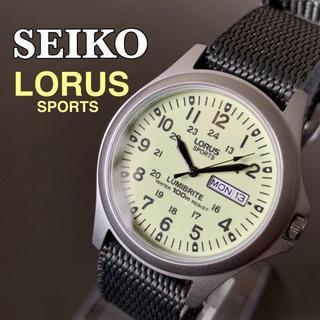セイコー(SEIKO)の【新品】セイコー ローラス★SEIKO LORUS 蓄光ダイヤル メンズ腕時計(腕時計(アナログ))