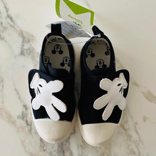 Disney - 【新品】ミッキーマウス スニーカー 16.0  キッズシューズ