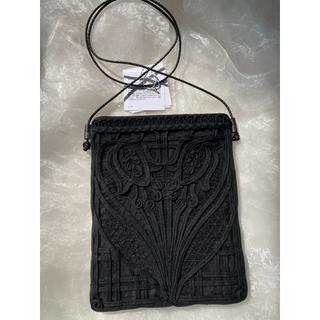 mame - 新品未使用 mame コード 刺繍バッグ ブラック