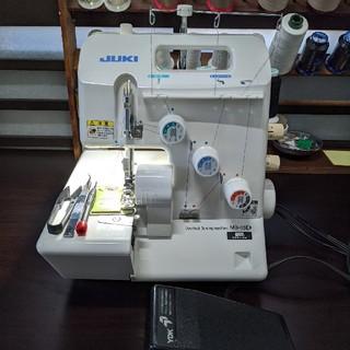 brother - 【 LED電球整備済】JUKI MO-03D  オーバーロックミシン 黒糸付