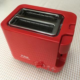 ティファール(T-fal)のT-fal ULTRA MINI (冷凍パン焼き、追加焼き機能付きトースター)(ホームベーカリー)
