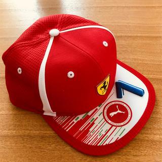 フェラーリ(Ferrari)の1度のみ使用 PUMA スクーデリア フェラーリ キミ•ライコネンキャップ (キャップ)