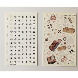 ルイヴィトン(LOUIS VUITTON)のルイヴィトン 手帳 リフィール シール(シール)