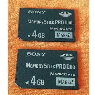 ソニー(SONY)のメモリースティックプロDuo (PC周辺機器)