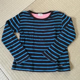 ターカーミニ(t/mini)のターカーミニ ボーダー 長袖カットソー(Tシャツ/カットソー)