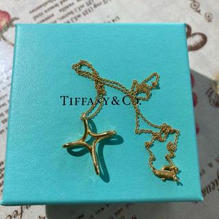 Tiffany & Co. - ティファニー☆k18☆インフィニティ☆ネックレス
