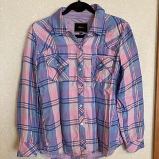 ローズバッド(ROSE BUD)のRails マドラスチェック シャツ(シャツ/ブラウス(長袖/七分))