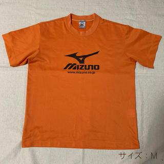 ミズノ(MIZUNO)のミズノ Tシャツ M オレンジ(ウェア)
