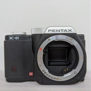 ペンタックス(PENTAX)の【hiroty77様専用】PENTAX K-01 ブラック(ミラーレス一眼)