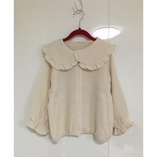 petit main - 《新品未使用》韓国子供服 フリルブラウス
